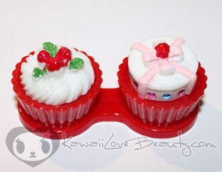 Sweet Lens Case - Strawberry Giftbox