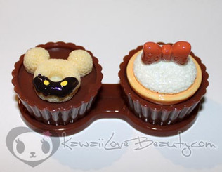 Sweet Lens Case - Chocolate Mickey Donut