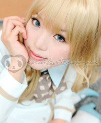 Geo Nudy Blue CH-622 circle lenses.