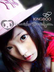 Geo XCK105 super sized black circle lenses on ulzzang