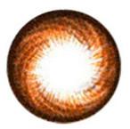 Circle lens design detail on Hurricane Honey Brown (HC104).