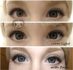 Hurricane Grey circle lenses by Geo