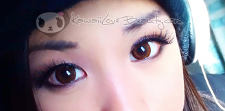 Geo Bella Brown 14.2mm colored contacts