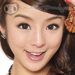 Geo WT-C24 brown circle lenses / colored contacts.