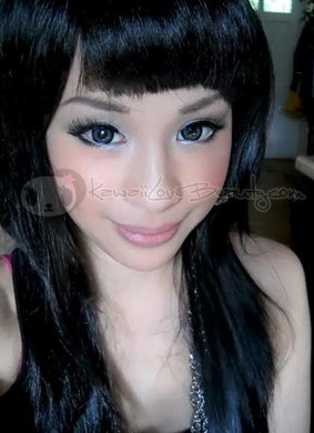 GEO Xtra Bella Grey circle lenses (WBS205).