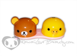 Rilakkuma and Kiiroitori Lens Case