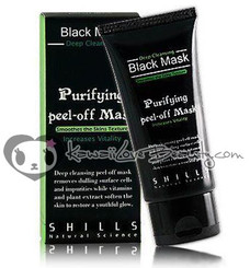 SHILLS Black Charcoal Deep Cleansing Purifying Peel-off Mask