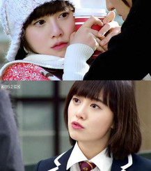 Pink lip tint as worn by Korean ulzzang / celebrities