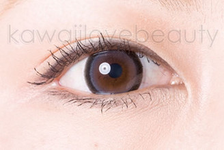 Close-up of grey WIA25 circle lens.