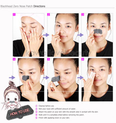 How to use Lioele Blackhead Zero Nose Patches