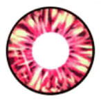 Circle lenses: Cara Red design detail (similar to I.Fairy Dolly+).