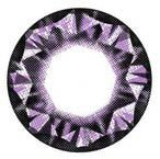 Barbie Diamond Violet circle lens detail.