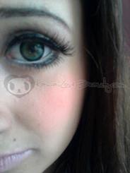Sugar Candy Green circle lenses by EOS Dolly Eye.