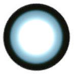 EOS Sugar Candy Blue circle lens design detail.