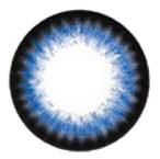 Dolly Eye Dreamy I Blue design detail, 14.5mm circle lenses.