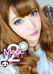 Dolly Eye Blytheye Grey big-eye colored contact lenses by EOS