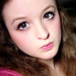 Barbie Jazzy 4 Tones circle lenses in brown
