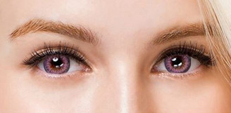 Colors of the Wind No.37 Milk Lilac circle lenses by i-Codi.