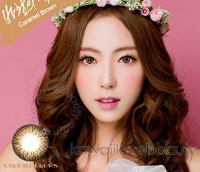Caramel Brown circle lenses by i-Codi Colors of the Wind