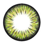 i-Codi Colors of the Wind circle lenses in Kiwi Sherbet.