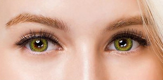 Colors of the Wind No.16 Kiwi Sherbet circle lenses by i-Codi.