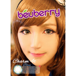 Beuberry Charm 4 Tones Blue authentic circle lenses at kawaiilovebeauty.com
