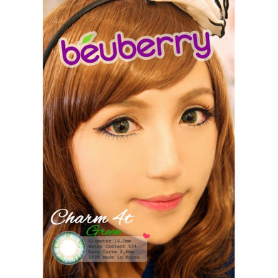 Beuberry 4 Tone Green circle lenses
