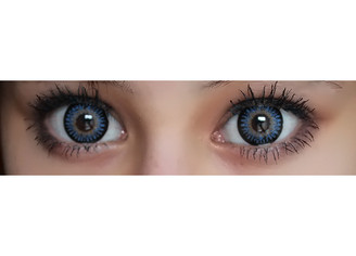 Bambi Blue circle lenses
