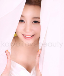 Cute ulzzang look with 15.0mm Geo Natural grey circle lenses.