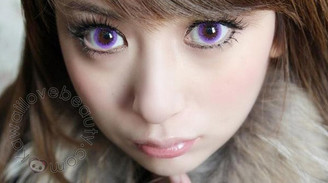 Barbie Bubble Violet lenses