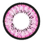 Circle lens design detail on Blytheye Pink by EOS Dolly Eye
