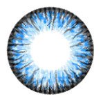 i-Codi Colors of the Wind blue circle lenses in Crystal Water.