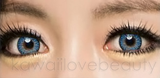 #26 Crystal Water blue color contacts by i-Codi Colors of the Wind.