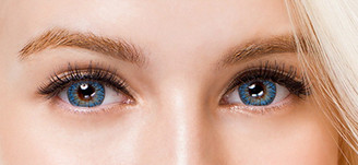 Colors of the Wind No.26 Crystal Water blue circle lenses by i-Codi.