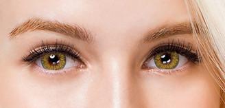 Colors of the Wind No.14 Lemon Tea circle lenses by i-Codi.