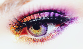 EOS Briller Violet circle lenses blend great over any eye color.