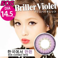 Briller Violet 14.5mm circle lenses by EOS.