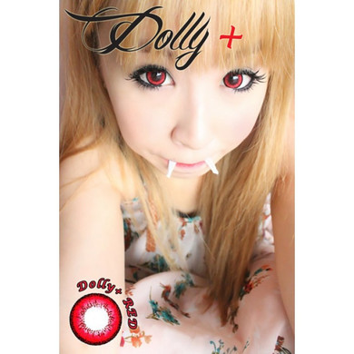 Dramatic Dolly+ Red circle lenses.