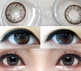 Closeup on Geo Big Grang Grang WHC-245 Grey circle lenses