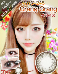 Geo Medical brand WHC245 Grey circle lenses in bright flash effect