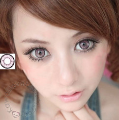 Super Nudy Pink contacts by Dolly Eye (EOS)