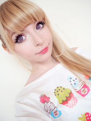EOS Dolly Eye Super Nudy pink circle lenses