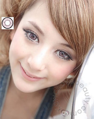 Super Nudy Pink contact lenses for big dolly eyes