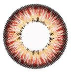 Sweety Puffy 3 Tones Hazelnut circle lenses