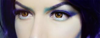 Twilight Bella colored contact lenses