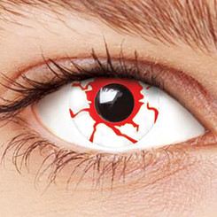 Crazy Bloodshot costume contact lenses