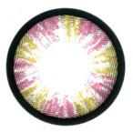 Rainbow Pink circle lenses by Sweety Brand Korea