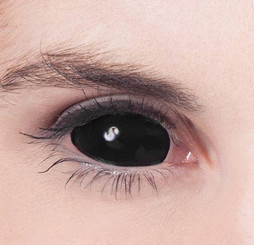 22mm black sclera contacts