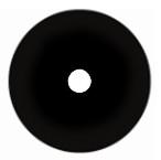 22mm black sclera contact lens
