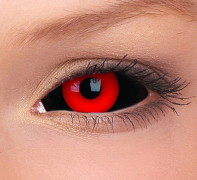 22mm Tokyo Ghoul red sclera contact lenses